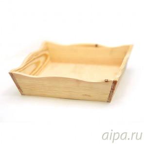 Крем-брюле Конфетница деревянная К24246К