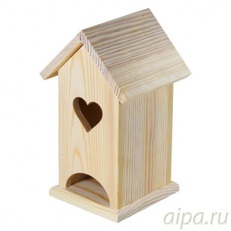 С Любовью Чайный домик деревянный ЧД111122Л