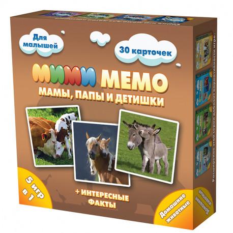 Домашние животные Настольная игра Ми-Ми-Мемо 8051