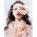 Дыхание нежности Алмазная мозаика на подрамнике LMC015