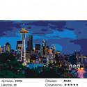 Количество цветов и сложность Ночь в Сиэтле Раскраска картина по номерам на холсте Z3733