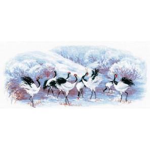 Японские журавли Набор для вышивания Риолис 1806