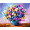 Яркий букет Раскраска картина по номерам на холсте GX24658