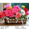Количество цветов и сложность Букет в корзинке Раскраска картина по номерам на холсте GX24575
