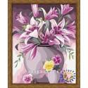 Фиолетовое настроение Раскраска по номерам акриловыми красками на холсте Hobbart
