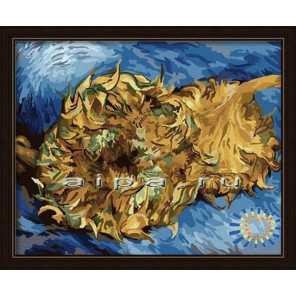 Винсент Ван Гог. Подсолнухи. Парижская серия Раскраска по номерам акриловыми красками на холсте Hobbart
