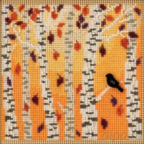 В рамке Осенний лес Набор для вышивания бисером MILL HILL MH141823