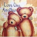 Любите друг друга Раскраска по номерам на холсте Hobbart