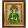 В рамке Святая великомученица Злата Набор для вышивания бисером GALLA COLLECTION М273