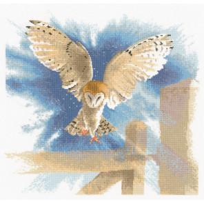 Сова в полёте Набор для вышивания Heritage FFOF483E