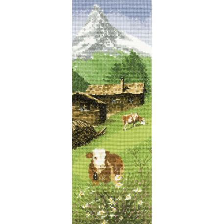 Альпийские луга Набор для вышивания Heritage JCAM524E
