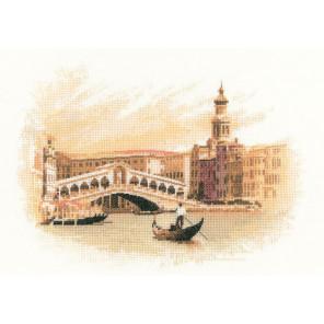 Мост Риальто Набор для вышивания Heritage JWRI1070E