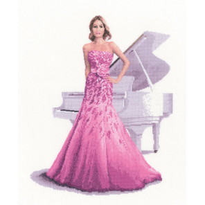 Роза Набор для вышивания Heritage JLRO1390E