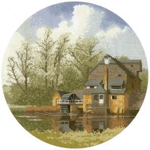Водяная мельница Набор для вышивания Heritage JCWM369E