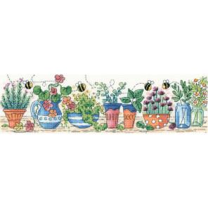 Сад с травами Набор для вышивания Heritage KCHG1396E