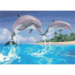 Дельфины Набор для вышивания Heritage PGDO1084E