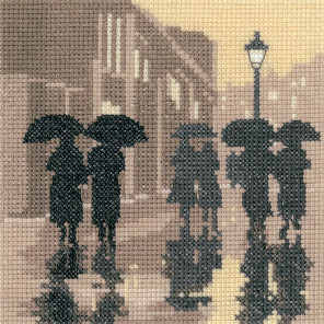 Во время дождя Набор для вышивания Heritage PSBL1279E