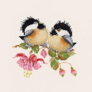 Цветочное чириканье Набор для вышивания Heritage VPFU777E