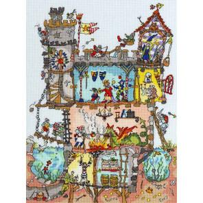 Замок Набор для вышивания Bothy Threads XCT19