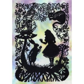 Алиса в Стране Чудес Набор для вышивания Bothy Threads XFT4