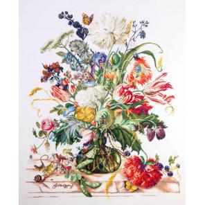 Эпоха тюльпанов. Культ цветка Набор для вышивания Марья Искусница 06.002.70