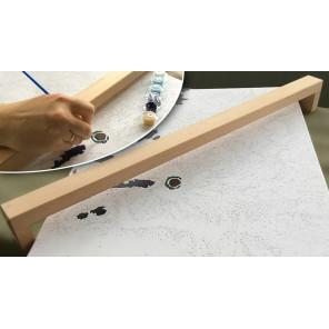 Опора для руки при рисовании 60 см В100