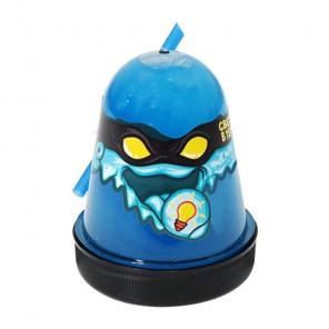 Синий, светится в темноте Лизун слайм Slime Ninja 130 г