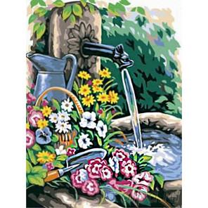 Свежесть летнего дня Раскраска картина по номерам на холсте
