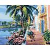 Солнечное лето Раскраска картина по номерам на холсте GX27639