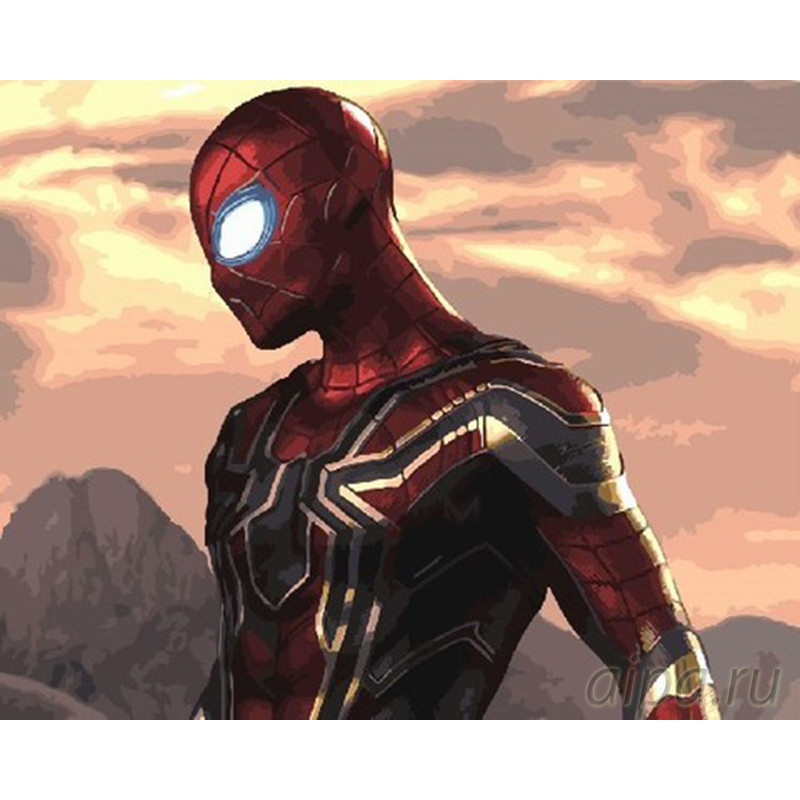 ZX 22236 Мстители. Человек-паук Раскраска картина по ...