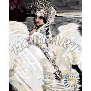 Врубель. Царевна Лебедь Раскраска по номерам акриловыми красками на холсте Hobbart