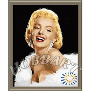 Мэрилин Монро Раскраска по номерам акриловыми красками на холсте Hobbart