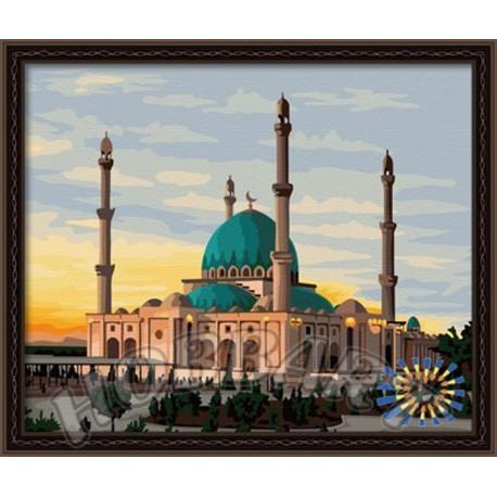 Мечеть Раскраска по номерам на холсте Hobbart DZ4050007 ...