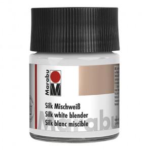 Белила для смешивания Добавка для красок по шелку Silk Marabu