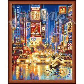 Огни большого города Раскраска по номерам акриловыми красками на холсте Hobbart