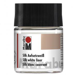 Белые подкрашивания Добавка для красок по шелку Silk Marabu