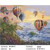 Количество цветов и сложность Шары у маяка Раскраска картина по номерам на холсте ZX 22171