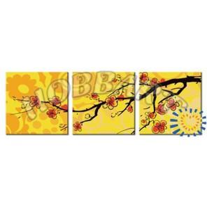 Сакура в лучах заката Раскраски картины по номерам акриловыми красками на холсте Hobbart