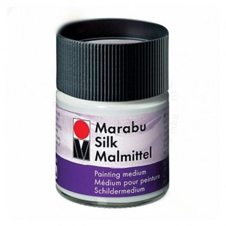 Блеск и водостойкость Добавка для красок по шелку Silk Marabu