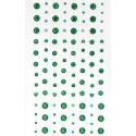 Зеленые Самоклеющиеся стразы 104 шт Docrafts