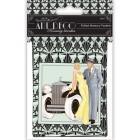 Art Deco Набор декоративных конвертов-кармашков для скрапбукинга, кардмейкинга Docrafts