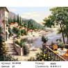 Количество цветов и сложность Отдых на лазурном берегу Раскраска картина по номерам на холсте ZX 22125
