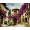 Улица в Европе Раскраска картина по номерам на холсте ZX 20604