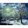 Наступила зима Раскраска картина по номерам на холсте ZX 21615