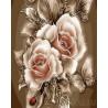 Карамельная роза Раскраска картина по номерам на холсте ZX 21692