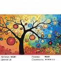 Количество цветов и сложность Дерево богатства Раскраска по номерам на холсте Живопись по номерам RA281
