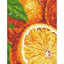 Апельсины Алмазная мозаика вышивка Паутинка М-274