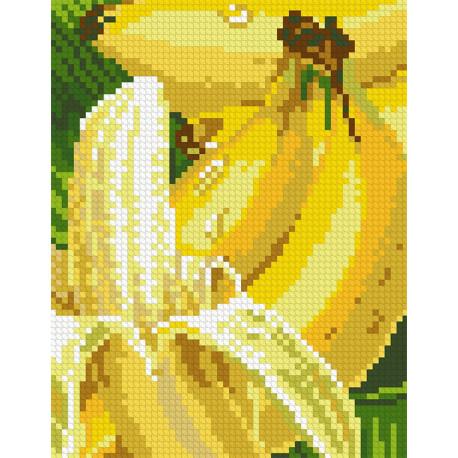 Бананы Алмазная мозаика вышивка Паутинка М-275
