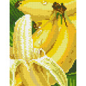 Бананы Алмазная мозаика вышивка Паутинка