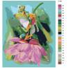Раскладка Лягушки Раскраска по номерам на холсте Живопись по номерам Z-AB3